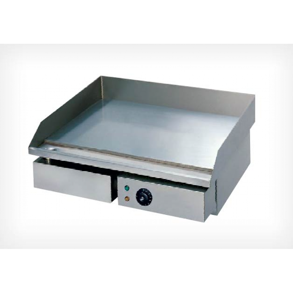 Fry top elettrico liscia beckers grill ghe 55 l beckers for Ikea piano cottura elettrico