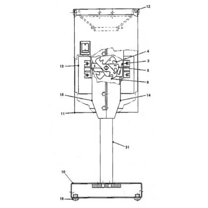 Spaccaghiaccio IC 250